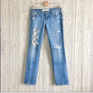 Abercrombie & Fitch Size 25 Erin Dist…